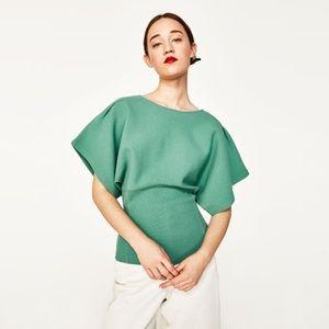 Zara Kimono Sleeve Sweater Size Medium